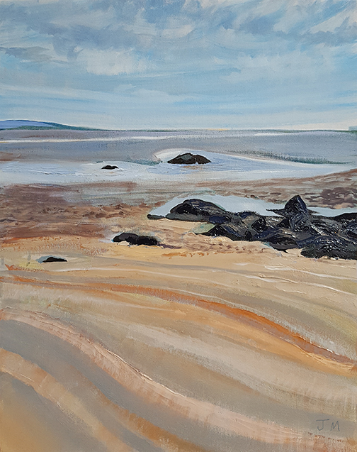 """Low Tide - Oil Painting 