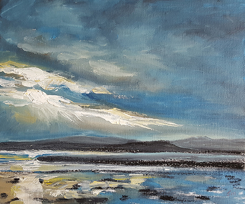 """Evening Light  - Oil Painting 