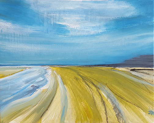 """Shifting Sands - Oil Painting 