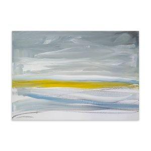 Distant Blue - original abstract art